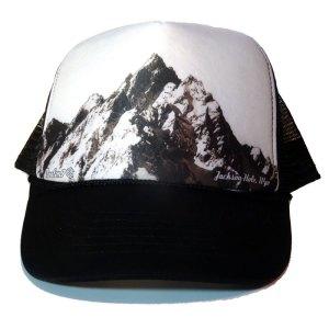Majestic Grand Tetons Blue Trucker Hat