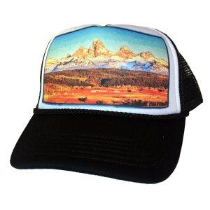 Teton Valley Idaho trucker hat by AVALON7