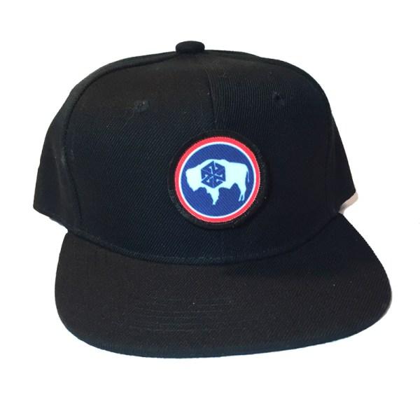 avalon7 wyoming bison kids snapback hat