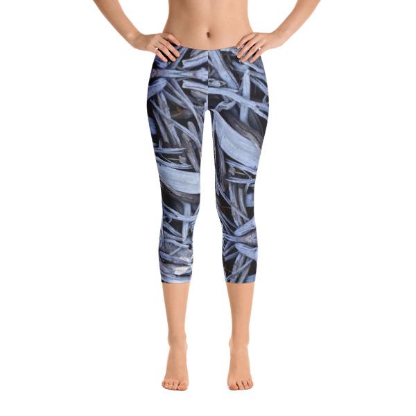 driftwood capri yoga pants by AVALON7