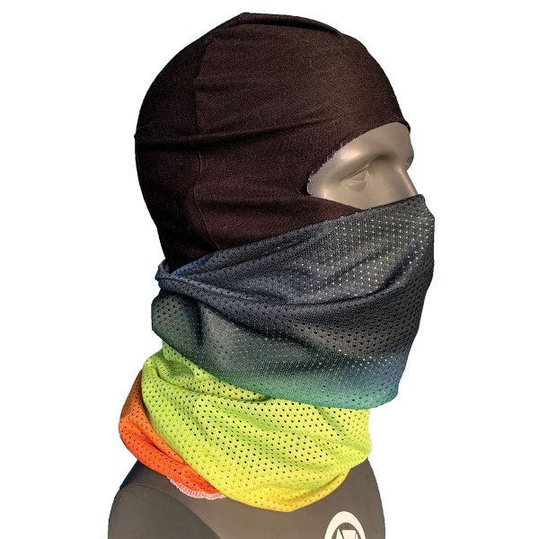 breathable snowboarding facemask system