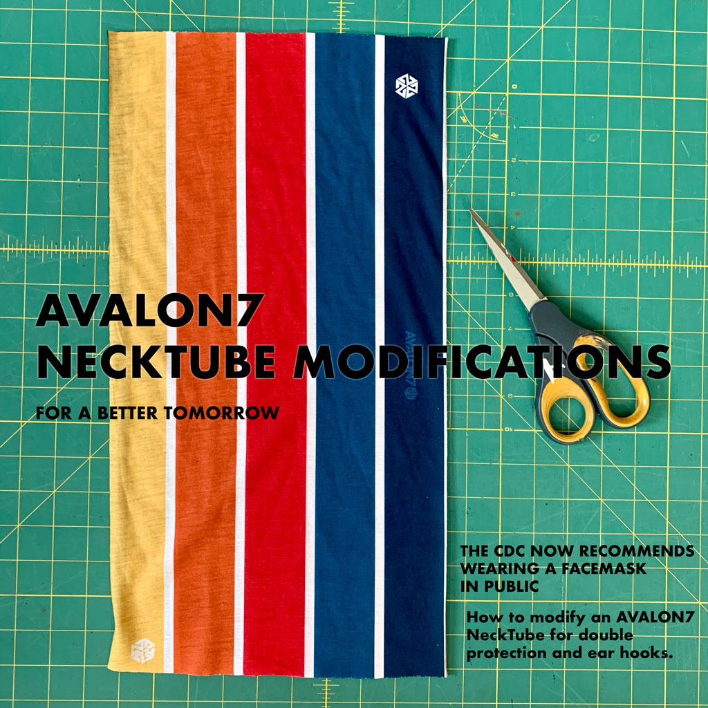 avalon7 facemask virus modification