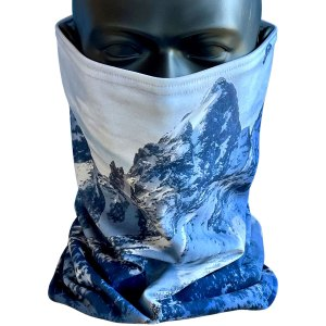 Avalon7 Valient Teton StormFleece Neck Gaiter face mask for snowboarding and skiing winter sports mtns