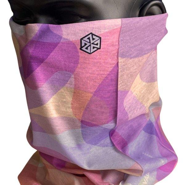 Avalon7 Pretty Pink Camo neck tube face mask
