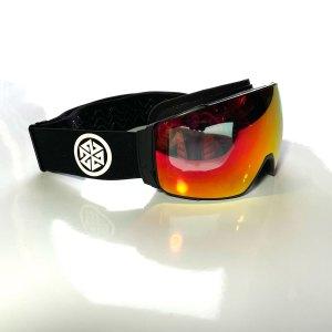 A7 Astra Magnetic Snowboard goggle black strap anti fog