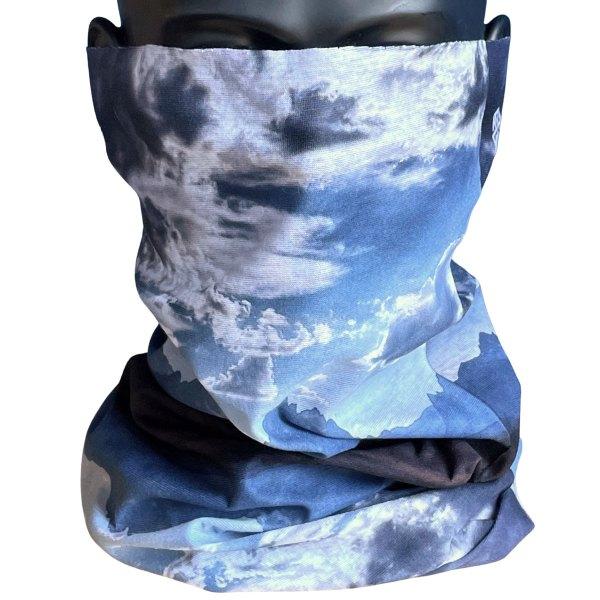 Avalon7 Jackson Hole Neck Gaiter face mask with Tetons