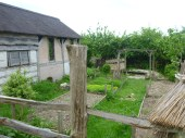 The Roman forge and herb garden at the ATC