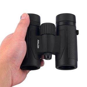 Avalon 8x32 Mini HD Binoculars BLACK