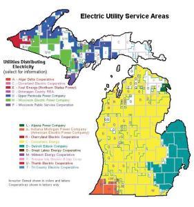michigan-utility-map
