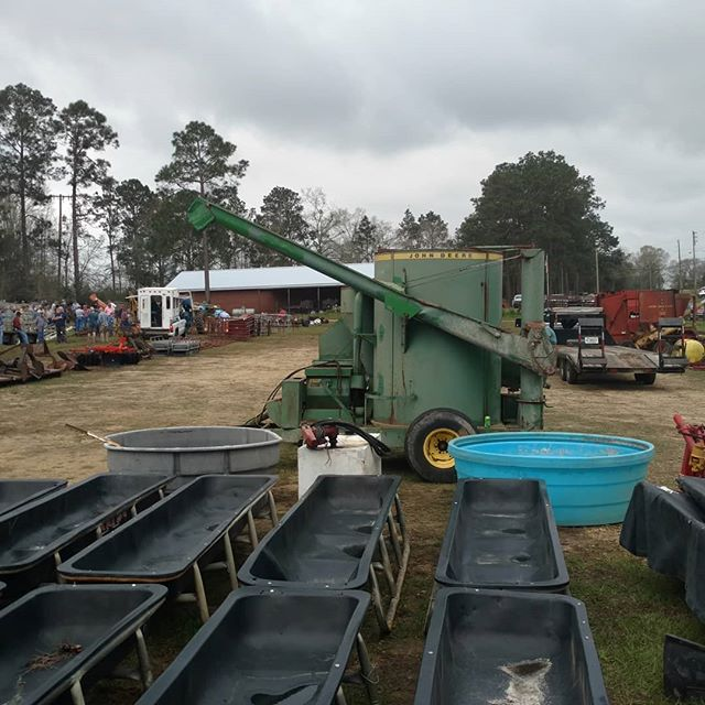 Nothing like a farm equipment auction in the spring to get your imagination and plans going!