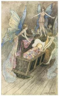 Book of Fairy Poetry, Warwick Goble, 1920