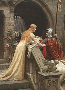Edmund Leighton [Public domain], via Wikimedia Commons