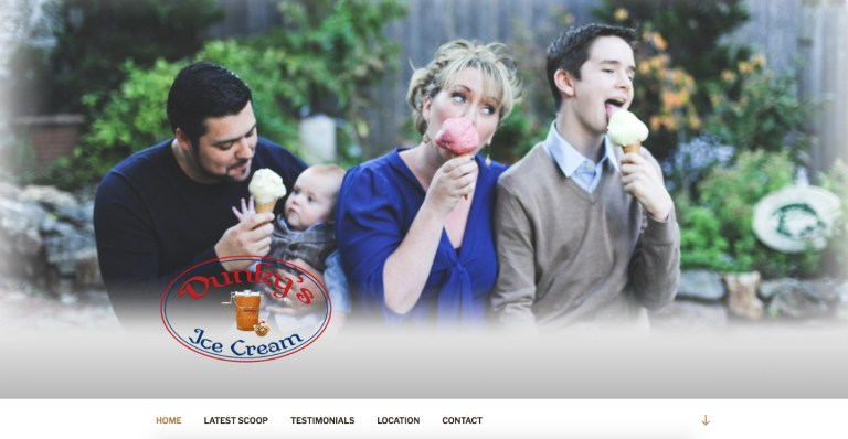 AvalonWebDesigns.com | DunkysIceCream.com ~ Old Fashioned Ice Cream | Licking, Missouri