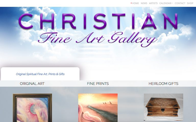 AvalonWebDesigns.com | Christian Fine Art Gallery - Website Design by KJ Burk