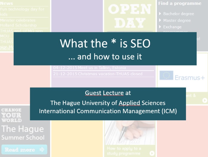 What is SEO? The slides