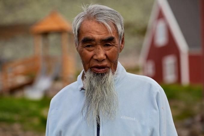 Ajoqi = the Priest's Assistant.  Avgo Suersaq. Savissivik, Northern Greenland. Photo © Galya Morrell