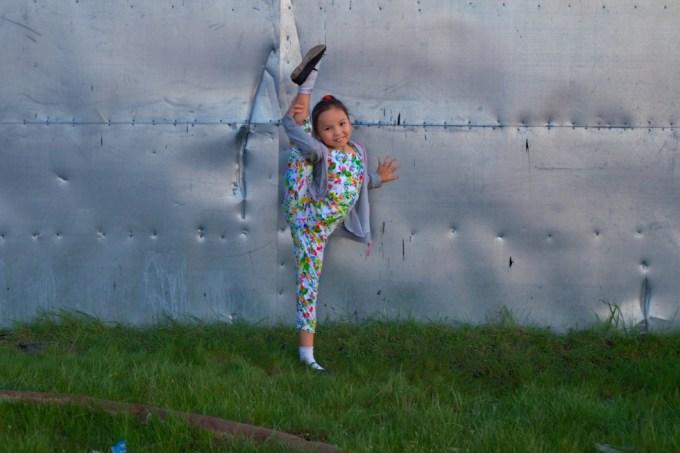 10 year old Ballerina in Yakutia. Photo © 2013 Galya Morrell