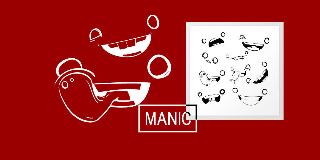 "New Artwork – ""Manic"""