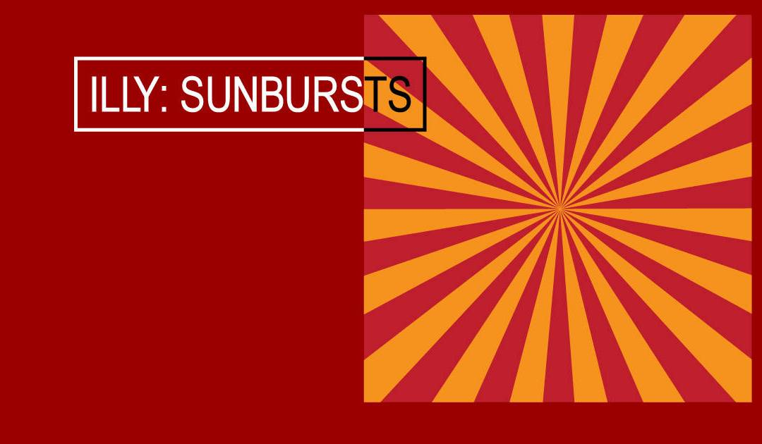 Simple Sunbursts in Adobe Illustrator