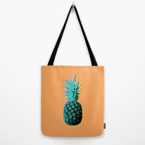 alex van rossum - pineapple - tote