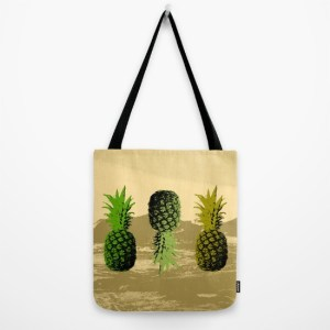alex van rossum - pineapple two - tote