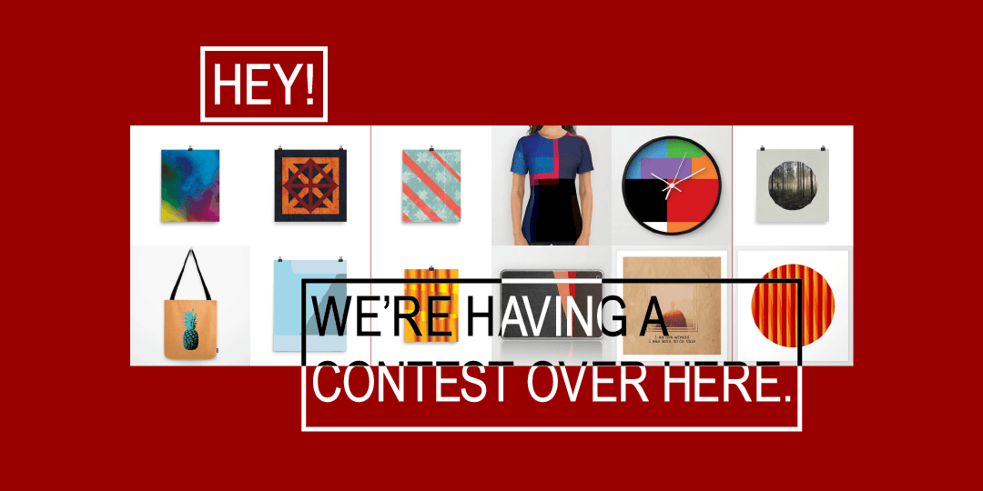 Hey! We're having a contest over here.