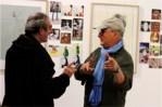 les 2 Jacques devant dessin Expo