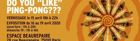 """La prochaine téléportation AVANT-RETARD : DO YOU """"LIKE"""" PING-PONG??? Episode III à l'Espace Beaurepaire"""