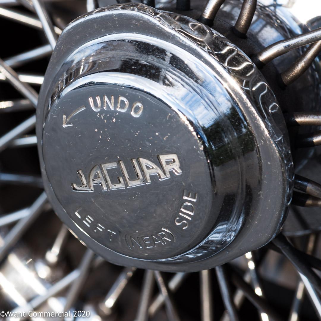 Jaguar v12 E-Type hub cap