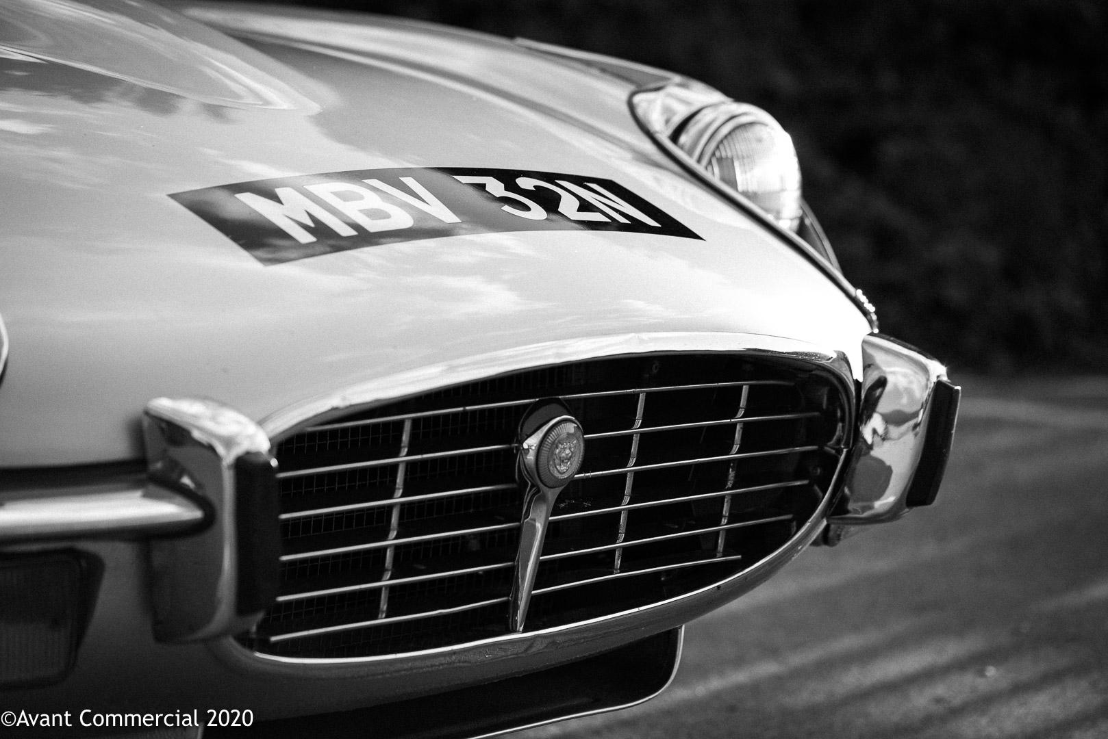Jaguar v12 E-Type grille