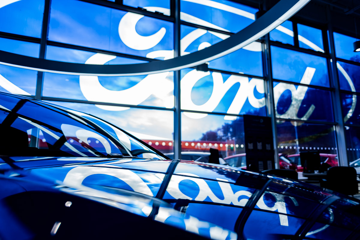 Avant Photo Day in the Life Photography Ford car showroom branding