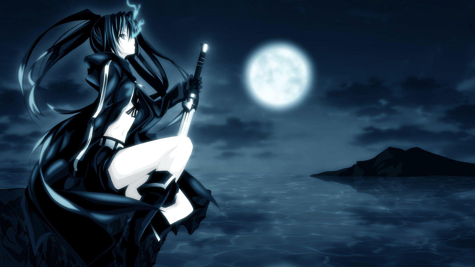 anime wallpaper blue 1920 x 1080 - impremedia