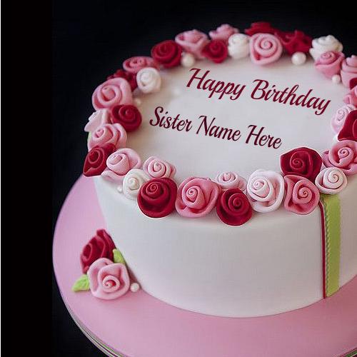 Happy Birthday Cake Write Name