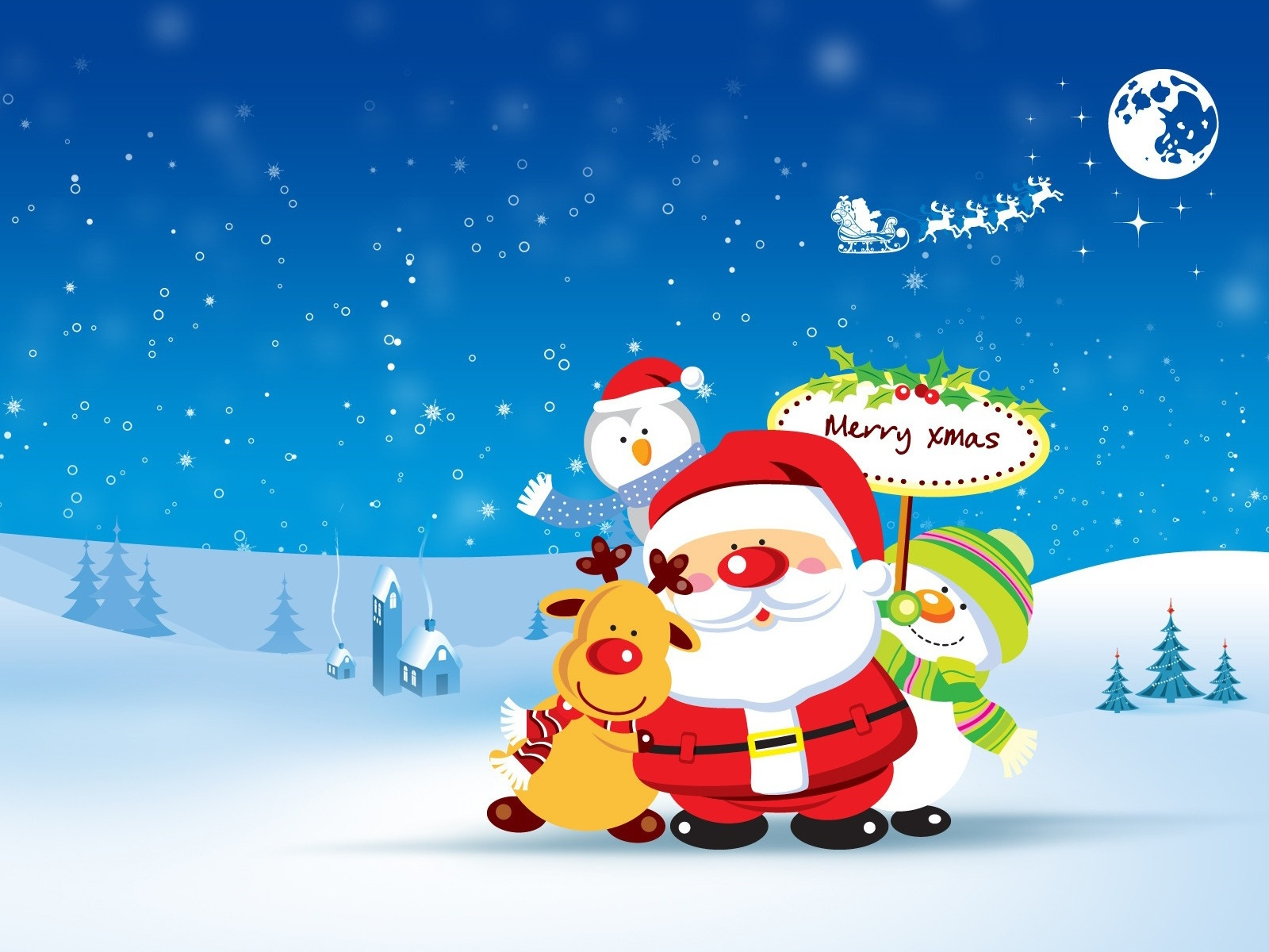 christmas cartoon wallpapers (67 wallpapers) – adorable wallpapers