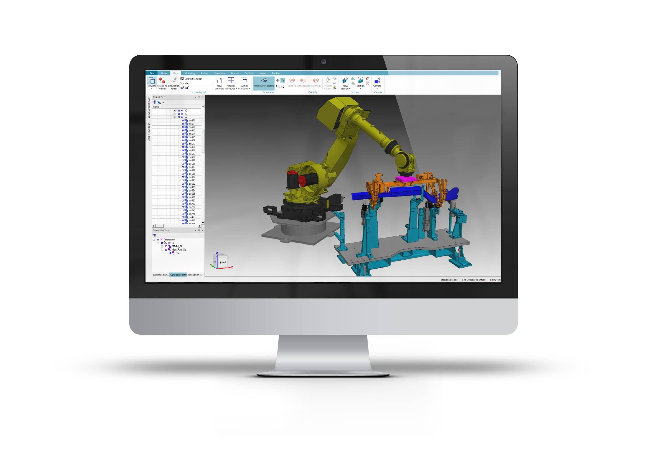 Tecnomatix Process Simulate imagen