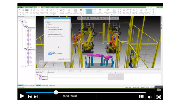 tecnomatix process video