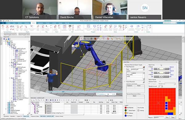 ¿No pudo participar? Visualice el webinar sobre simulación de paquetes dinámicos con Tecnomatix Process Simulate