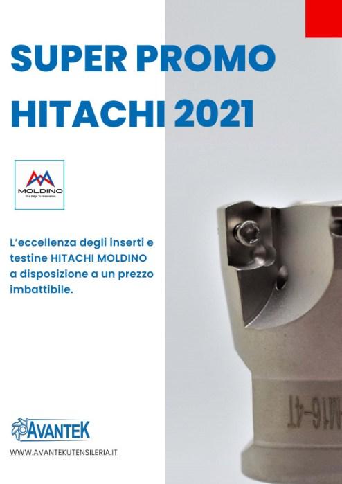 Promo HITACHI Testine e inserti 2021