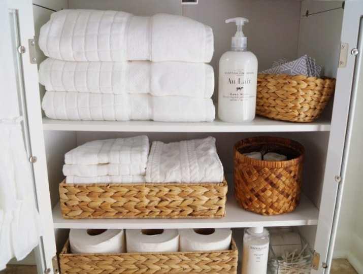 Narrow Linen Closet