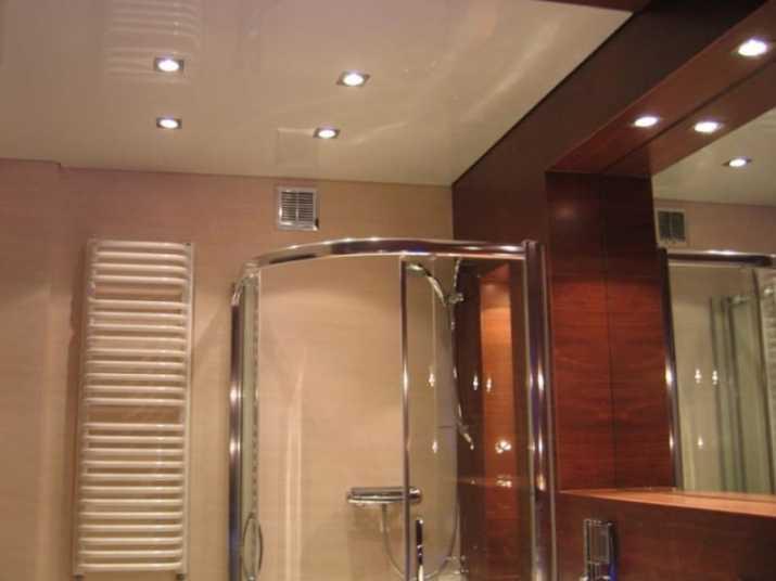 Bathroom with Drop Ceiling