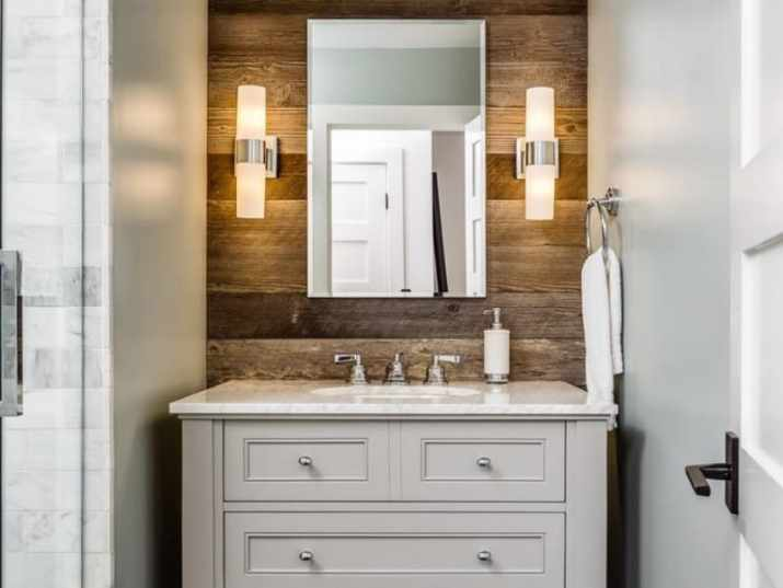 Splash Rustic Bathroom