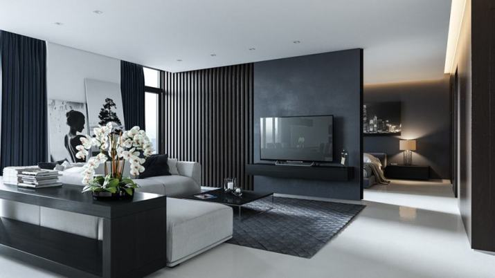 Elegant Grey Living Room