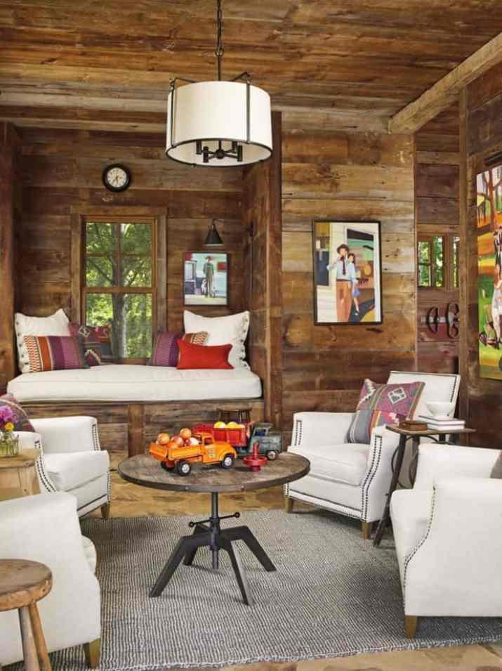 Fancy Rustic Living Room
