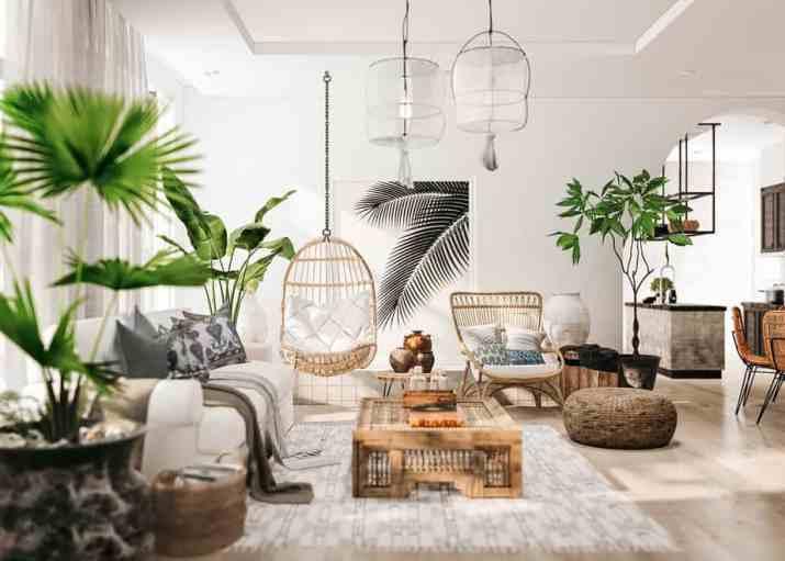 Fresh Rustic Living Room