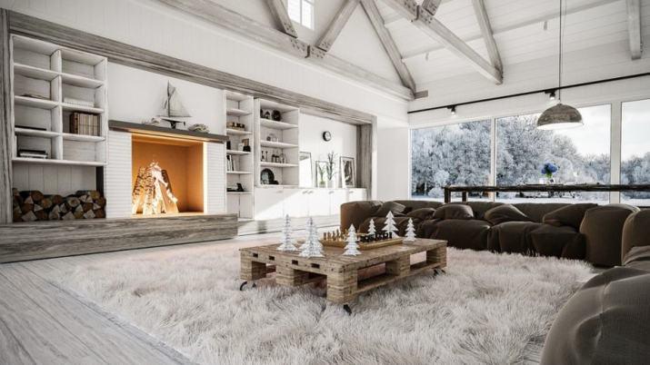 Pure Rustic Living Room