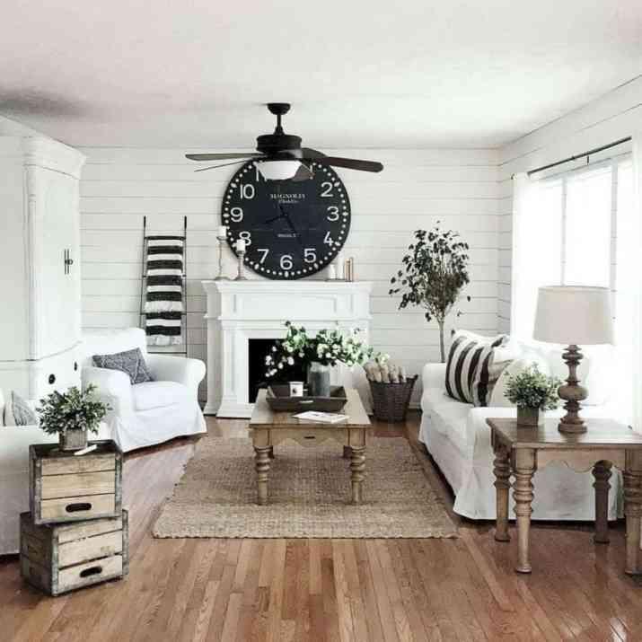 Sweet Rustic Living Room