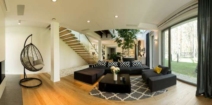 Open Space Large Living Room