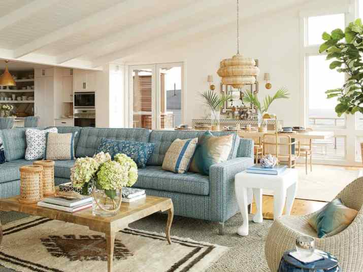 Living Room Dining Room Combo by Beachside.