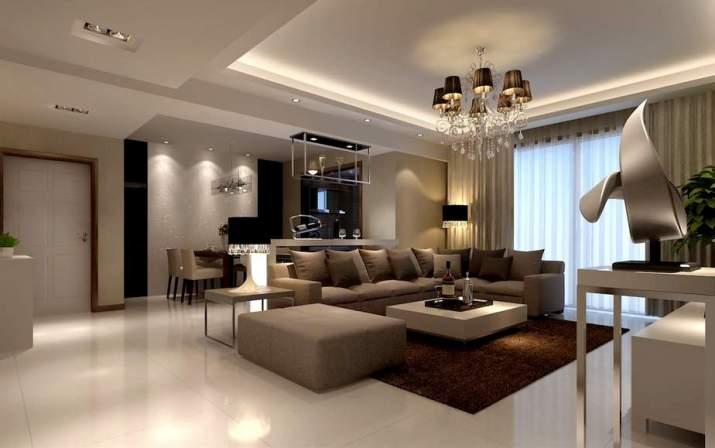 Ideas de combo de sala de estar y comedor para el apartamento