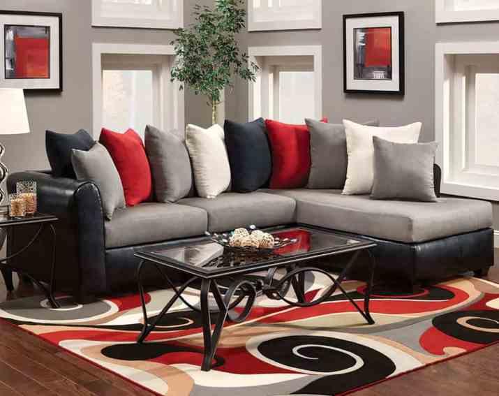 Modest, Elegant Living Room.